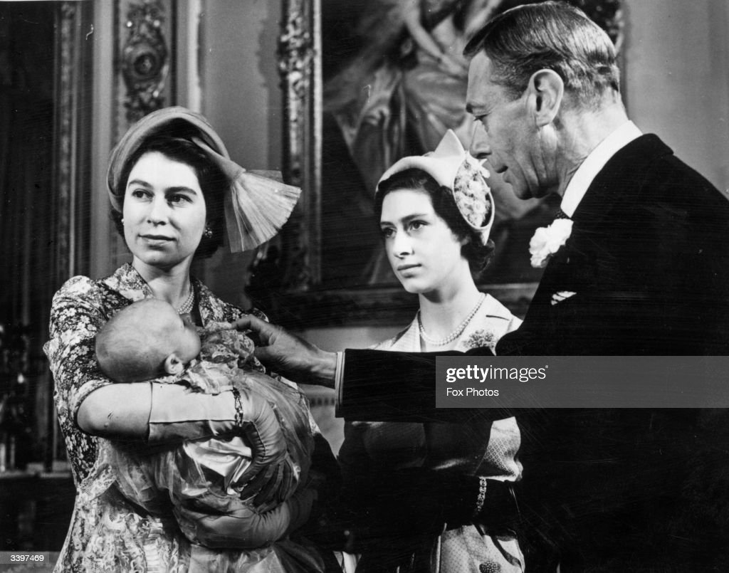 Royal Christening : News Photo