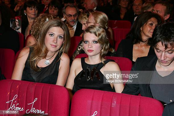 21St Of 'Nuit Des Molieres' In Paris France On May 14 2007 Amanda Sthers and Melanie Thierry