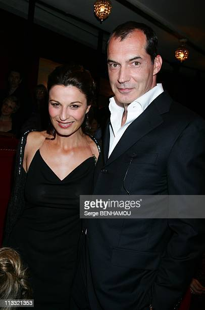 21St Of 'Nuit Des Molieres' In Paris France On May 14 2007 Samuel Labarthe and friend