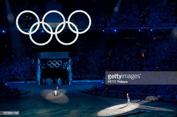 21St Olympic Winter Games In Vancouver 2010. La cérémonie d'ouverture des 21ème jeux olympiques d'hiver au BC Place Stadium de Vancouver : arrivée de...