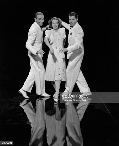 Fred Astaire Eleanor Powell and George Murphy play a trio of dance partners in the musical 'Broadway Melody of 1940' directed by Norman Taurog