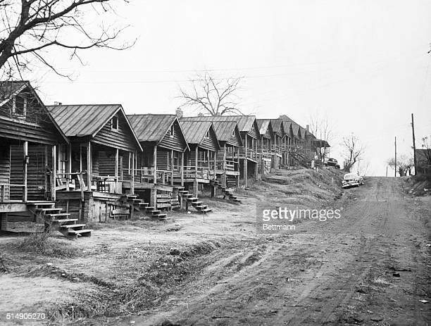 2/20/1957Montgomery AL Sleepy time down south This section known as Peacock's Track in Montgomery is composed of shacks owned principally by white...