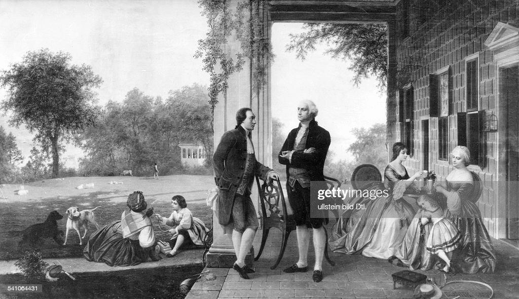 George Washington, Politiker, USA - 1784 : News Photo