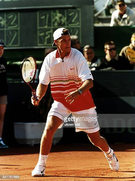 Sportler Tennis DTennis DavisCup 1 Runde SpanienDeutschland 41 in Cala Ratjada Spielstudie Februar 1997