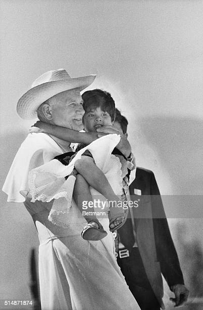 2/2/1979Cuilapan Mexico Wearing a cowboystyle straw hat Pope John Paul II holds a small child while visiting the Indian vilage of Cuilpan January 29...