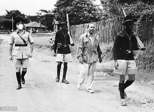 2/25/1953Kapenguria Kenya Chief of the Mau Maus This government photo shows Jomo Kenyatta 55yearold Moscowtrained native leader accused by the...