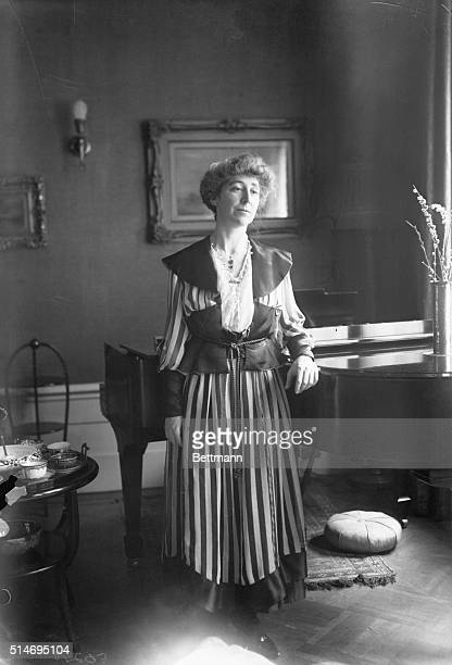 Miss Jeanette Rankin, woman in Congress.