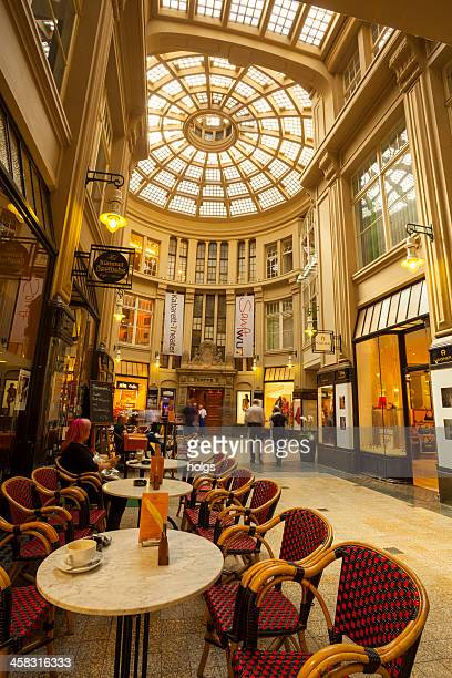 Mädler Passage Shopping Arcade in Leipzig, Germany