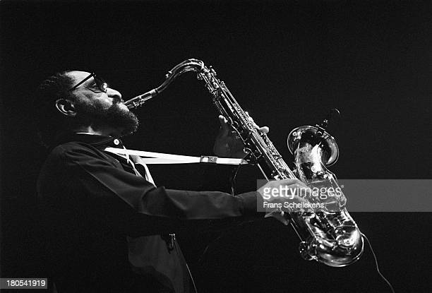 22nd: American jazz tenor saxophone player Sonny Rollins performs at the Concertgebouw in Amsterdam, Netherlands on 22nd April 1989.
