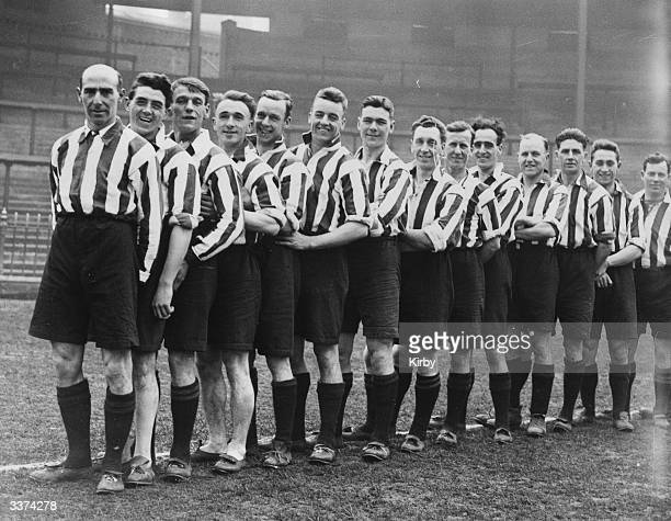 The players of Sheffield United FC