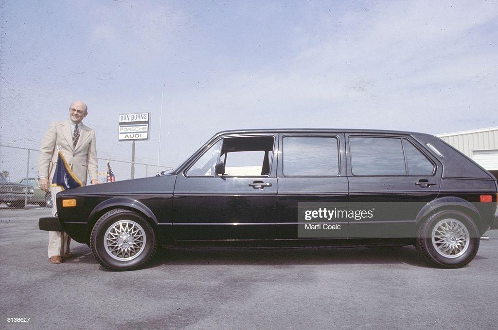 A Volkswagen stretch limousine car.