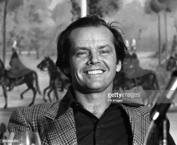 On this day in 1937 the American actor Jack Nicholson was born Jack Nicholson at the press reception for his latest film One Flew Over the Cuckoo's...