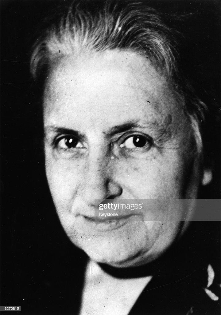 Maria Montessori : News Photo