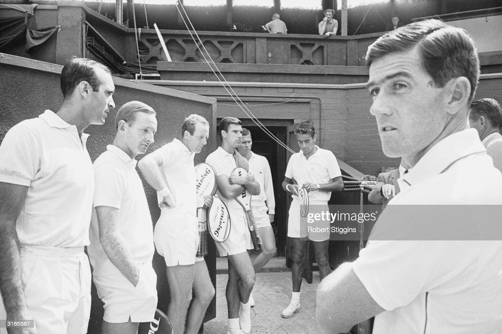 Tennis Professionals : Fotografía de noticias