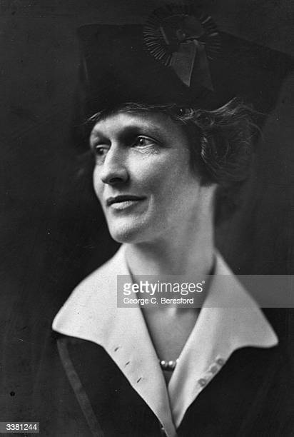 American-born British society hostess and politician Nancy Astor. As Viscountess Astor, she was the first woman to hold a seat in the House of...