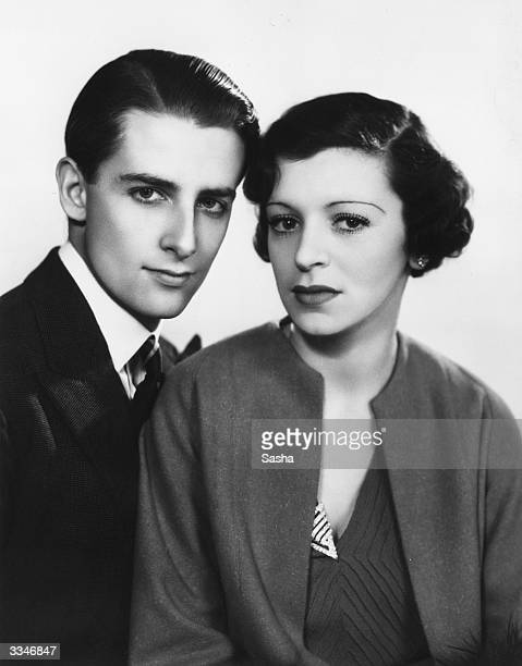 British tennis player Bunny Austin winner of 36 out of 48 rubbers for Britain in the Davis Cup with his wife actress Phyllis Konstam