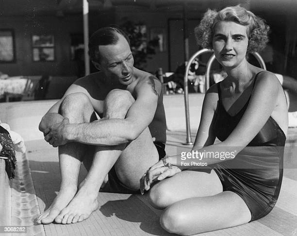 American socialite and Woolworth heiress Barbara Hutton said to be the richest woman in the world travels to India aboard the luxury liner 'Victoria'...