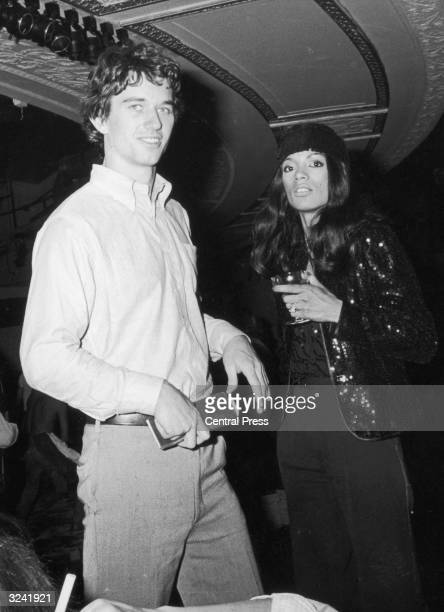 Robert Kennedy Jnr with his fiancee model Jules Dreyfus at Studio 54 the famous New York nightclub