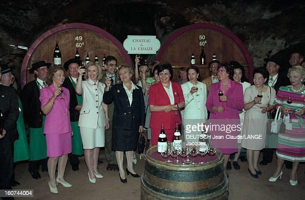 22nd G7 Summit In Lyon. Du 27 au 29 juin 1996, Lyon est le point de mire du monde. Pour la 22ème fois, les sept chefs d'Etat et de Gouvernement des...