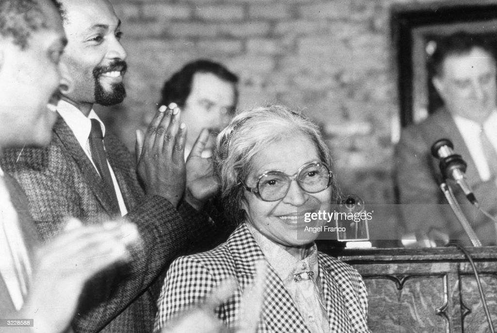 Rosa Parks Tribute : News Photo