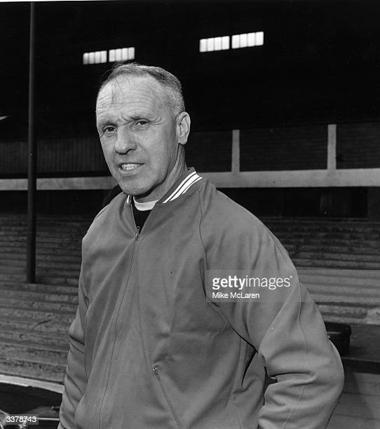 Bill Shankly Preston North End International soccer player and Liverpool FC manager