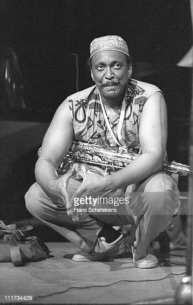 22nd JULY; Saxophonist George Adams playing at the BIMhuis in Amsterdam, Netherlands on 22nd July 1986.