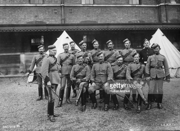 Colonial troops of the British Empire in England for the Diamond Jubilee celebrations of Queen Victoria