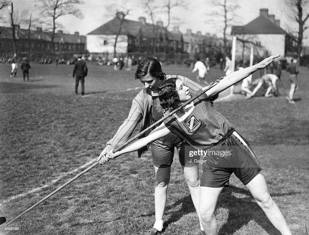 Javelin Throwing : News Photo