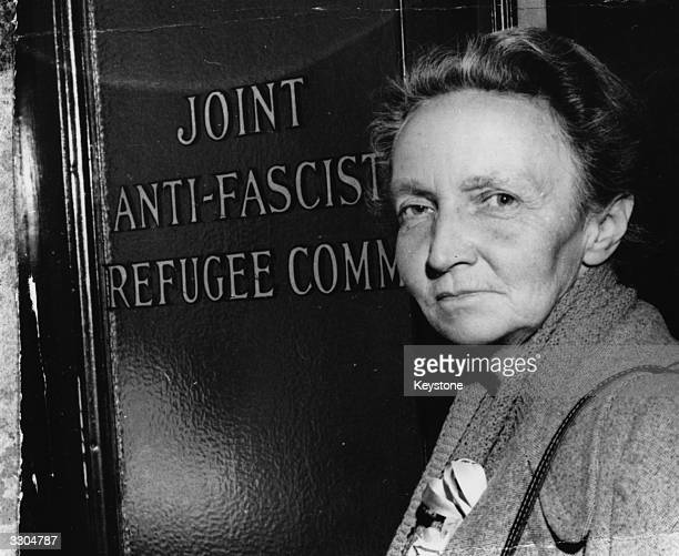 Irene Joliot Curie chemist and 1956 Nobel prizewinner