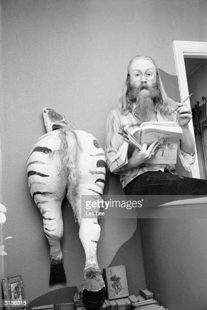 Eccentric English pop star, Viv Stanshall, a leading member of the Bonzo Dog Doo-Dah Band, he later released several comic spoken word albums.