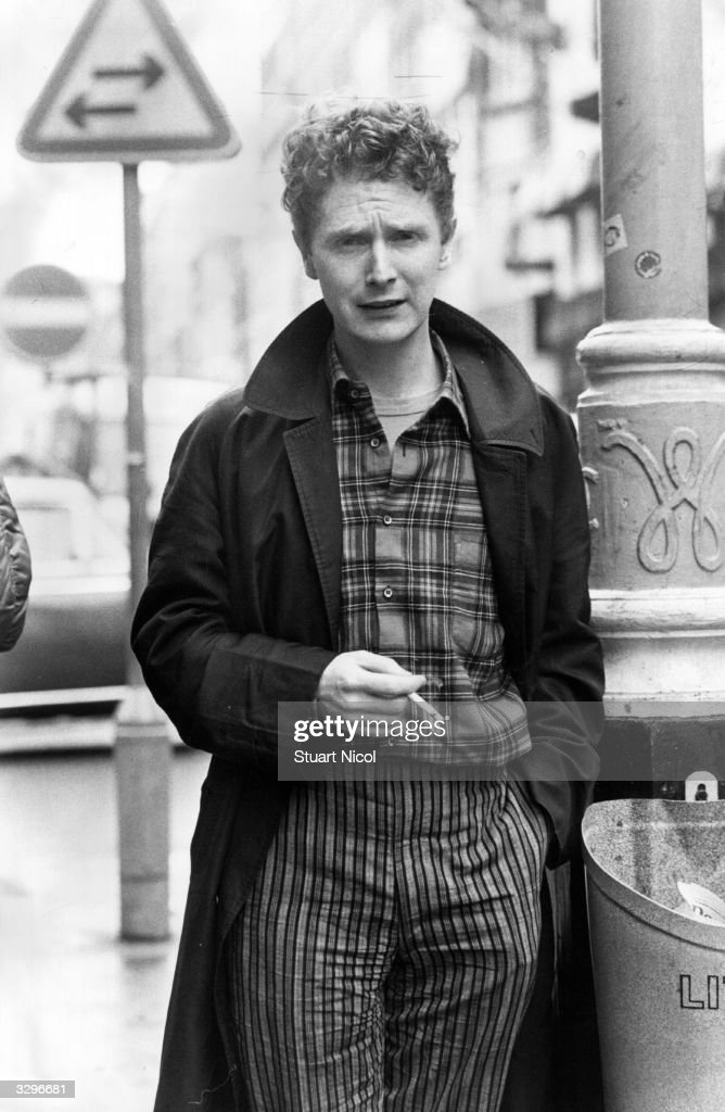 Malcolm McLaren, most famous for his management of the British punk group the Sex Pistols and later Bow Wow Wow and their 14 year old singer Anabella Lu Win. Husband of fashion designer Vivienne Westwood.