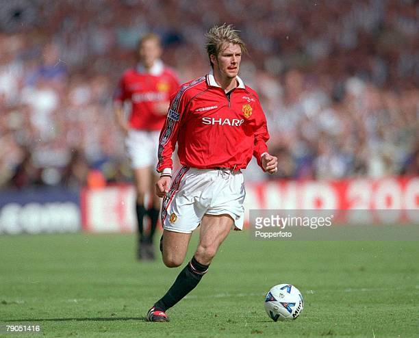 22nd MAY 1999 FA Cup Final Wembley Manchester United 2 v Newcastle 0 Man Utd's David Beckham