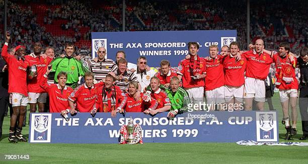 22nd MAY 1999 FA Cup Final Wembley Manchester United 2 v Newcastle United 0 Manchester United FA Cup winners 1999