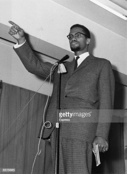 Malcolm X , American Black Muslim leader and founder of the Islamic socialist Organization of Afro-American Unity.