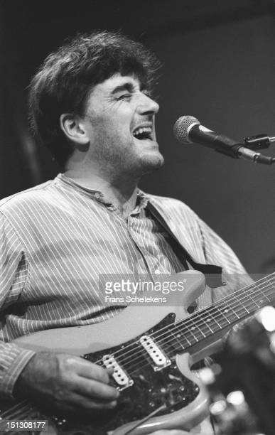 22nd NOVEMBER: English musician Fred Frith performs live on stage at the BIM Huis in Amsterdam, Netherlands on 22nd November 1986.