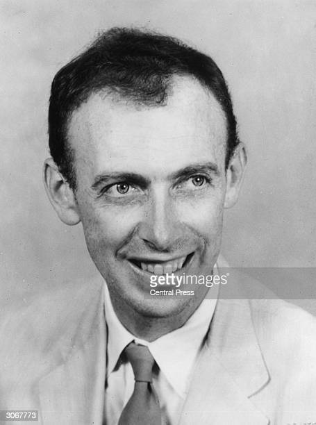 Dr James Dewey Watson professor of biology at Harvard University who won the 1962 Nobel Prize for Physiology and Medicine in conjunction with Francis...