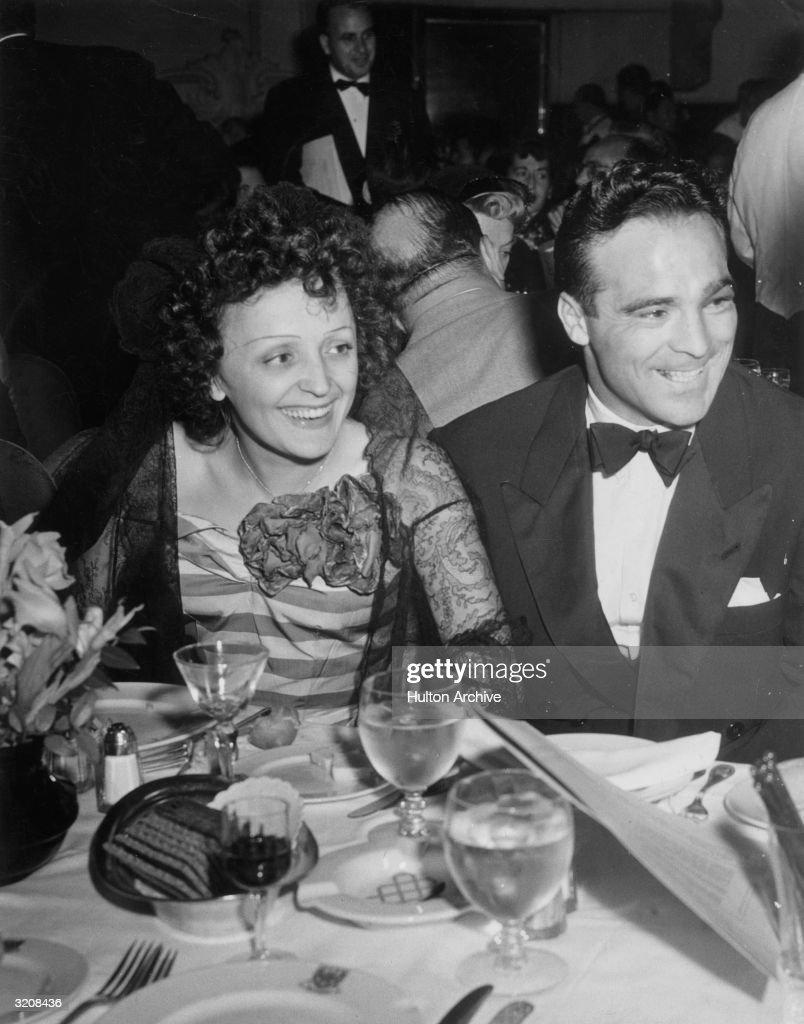 Piaf And Cerdan : News Photo