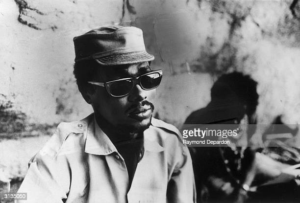 Habre Hissen, the leader of the Chad rebels.