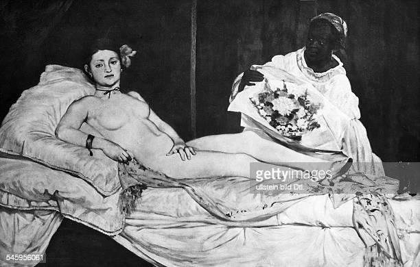 *2301183230041883Maler Frankreich Gemälde 'Olympia'undatiert