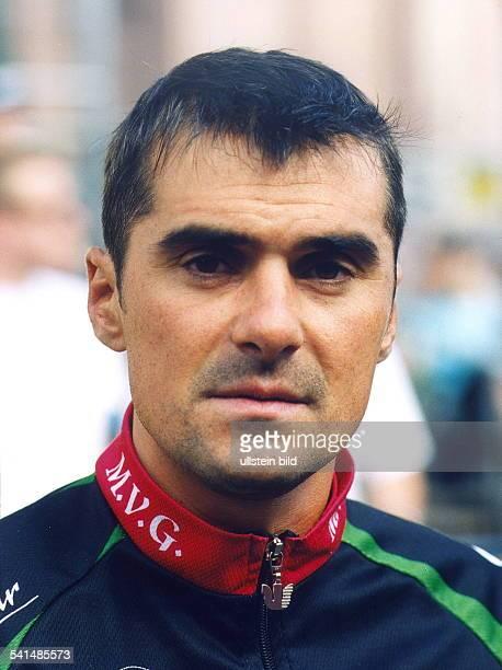 Sportler Radrennen DPorträt August 2002