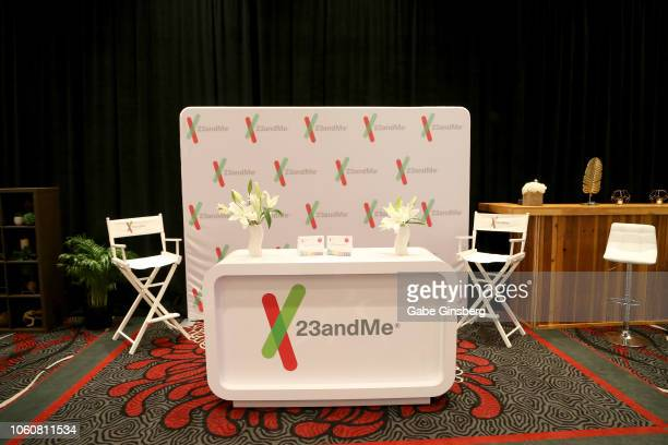 23andMe at the gift lounge during the 19th annual Latin GRAMMY Awards at MGM Grand Garden Arena on November 12 2018 in Las Vegas Nevada