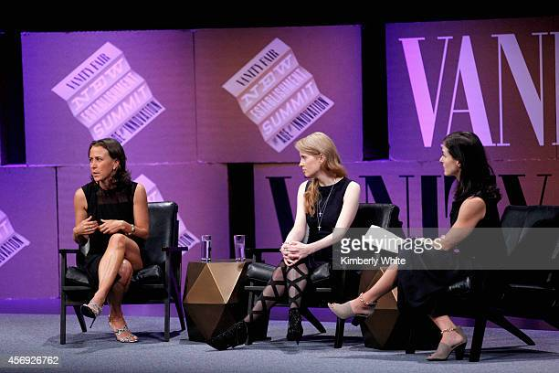 23andMe CoFounder Anne Wojcicki Stanford Center on Philanthropy and Civil Society Founder and Chairman Laura ArrillagaAndreessen and Vanity Fair...