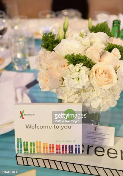 23andMe kits at the 2017 Streamy Awards at The Beverly Hilton Hotel on September 26 2017 in Beverly Hills California
