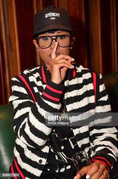 DeJ Loaf attends 'TOGETHER' A Black History Month Celebration Of Unity Community at Tree Sound Studios on February 23 2017 in Atlanta Georgia