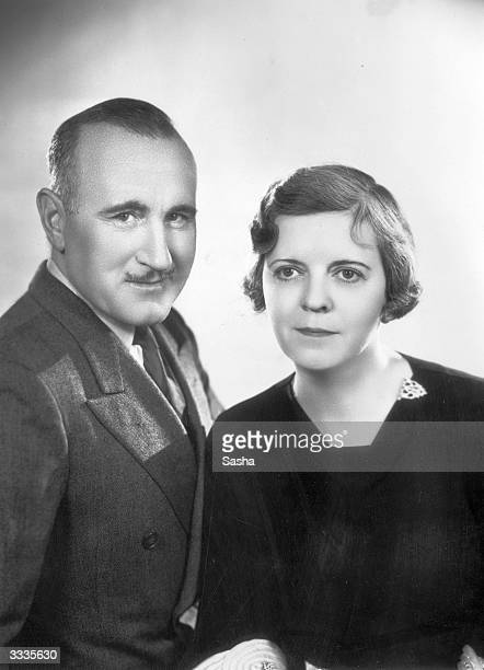Actor Donald Crisp with his script-writing wife Jane Murfin.