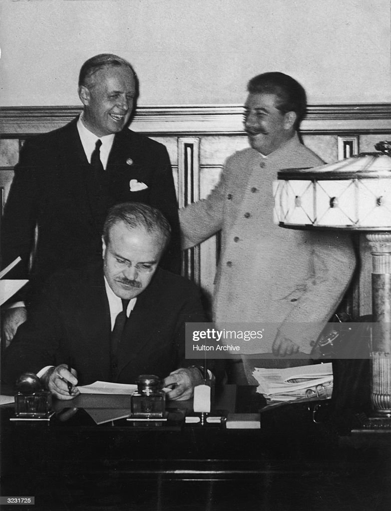 Non-Aggression Treaty : News Photo