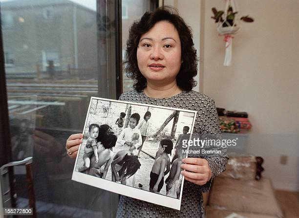 Phan Thi Kim Phuc the subject of Nick Ut's Pulitzer Prizewinning photograph taken during the Vietnam War in 1972 The photo depicted her running naked...