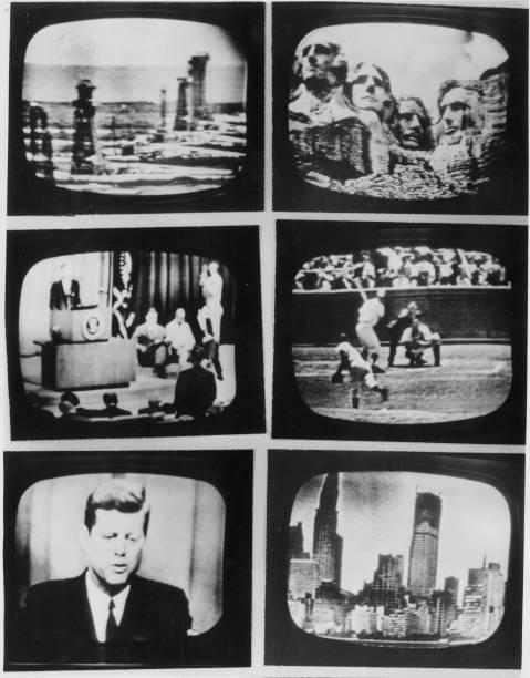 First Live Transatlantic TV Wall Art