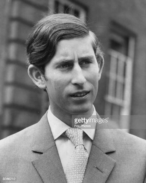 Charles Prince Of Wales after graduating with a Bachelor of Arts degree in history