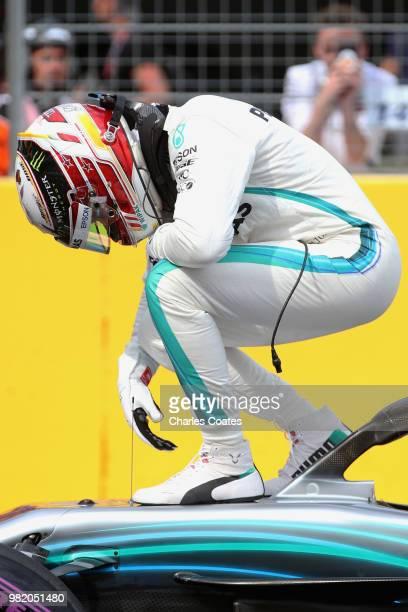 23rd June 2018 Circuit Paul Ricard Le Castellet France French Formula One Grand Prix qualification Scuderia Ferrari Sebastian Vettel takes 3rd on pole